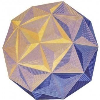 Tapis Dodecaedro Diamond Nodus