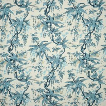 Tissu Mary Day Botanical Slate Ralph Lauren