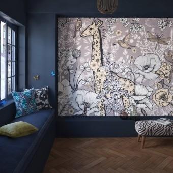 Terre Inconnue Panel Mercure Etoffe.com x M.Cailloux