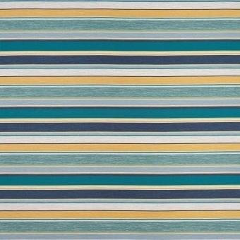 Spiaggia Stripe Outdoor Fabric Emeraude Osborne and Little