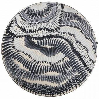 Prête Moi Ta Plume Carbone Rug diamètre 250 cm Christian Lacroix
