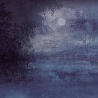 Panneau Sous Bois Bleu/Marine Stella Cadente