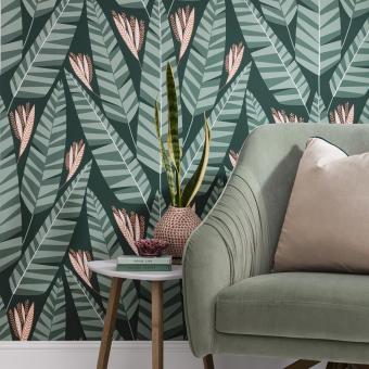 Jungle Wallpaper Palm MissPrint