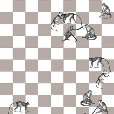 Papier peint Checkmate 265x135 cm Cole and Son