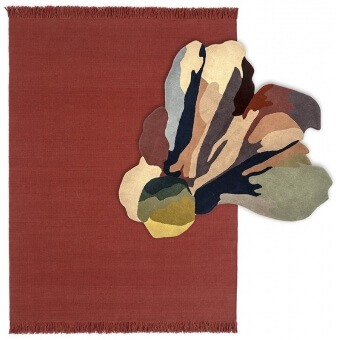Tapis Bloom 1 Saffron 170x240 cm Nanimarquina