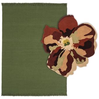 Tapis Bloom 2 Basil 170x240 cm Nanimarquina