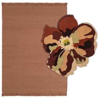 Bloom 2 Blush Rug 170x240 cm Nanimarquina