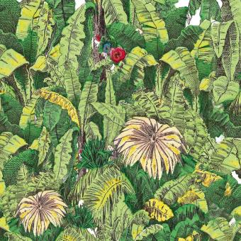 Jardin Vegetal Panel 444x224 cm - 5 lés Maison Images d'Epinal