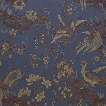Parade Oiseaux Fabric Laque Lelièvre