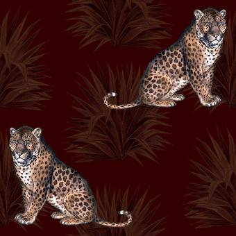 Le Leopard Panel Cacao Maison Images d'Epinal