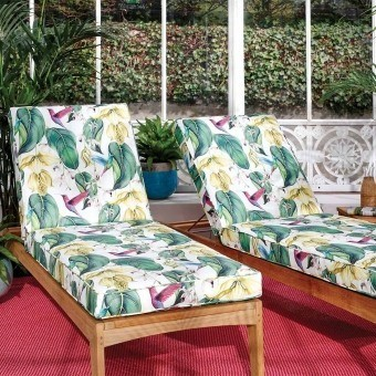 Trailing Orchid Outdoor Fabric Exotique Osborne and Little