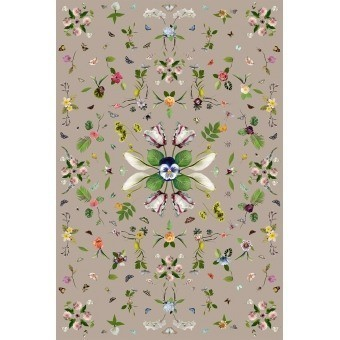 Garden of Eden rectangle Rug Beige MOOOI