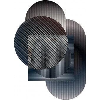 Tapis Trichroic Hoxton - Shapes Night MOOOI