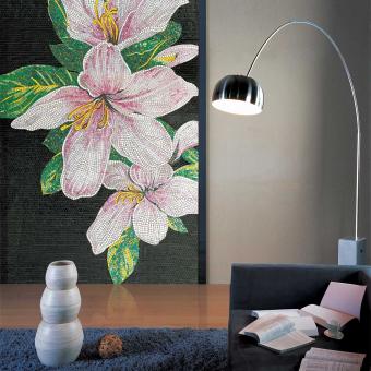 Lilium Mosaic Nero/Rosa Vitrex