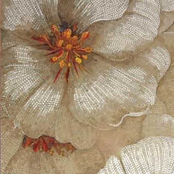 Camelia Mosaic Bianco Vitrex