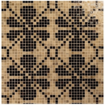Genziania Mosaic floor and wall -  thickness 0,4 cm Vitrex