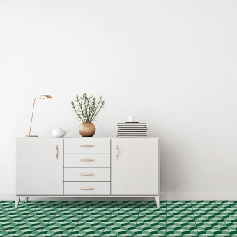 Cube cement Tile Dove Carodeco
