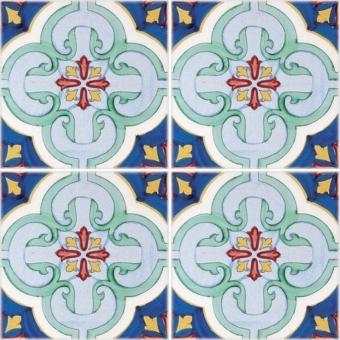 Molina cement Tile Verde Francesco De Maio