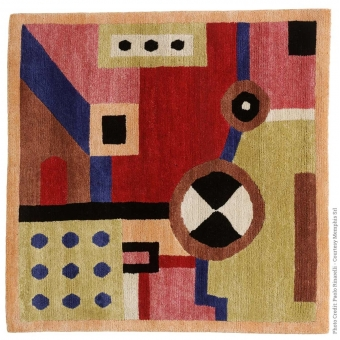 NDP26 Rug by Nathalie du Pasquier 120x120 cm Post Design