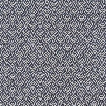 Calathea Outdoor Fabric Cobalt Osborne and Little