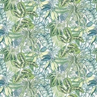 Hothouse Outdoor Fabric Exotique Osborne and Little