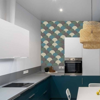 Ecaille cement Tile Doeskin Carodeco
