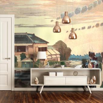 Crépuscule Panel Paysage Etoffe.com x Agence Musées Nationaux