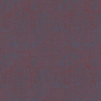 Towada Metallized Panel Blu/Rosso Armani Casa