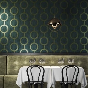 Contemporary Wallpaper Alpine Masureel
