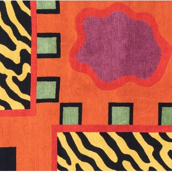 Equador Rug by Nathalie du Pasquier 200x200 cm Post Design