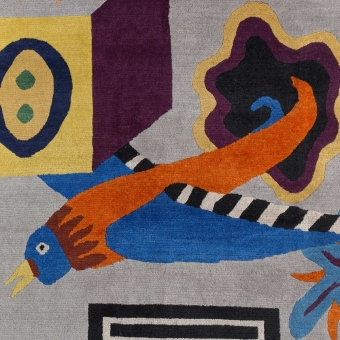 NDP47 Rug by Nathalie du Pasquier 220x250 cm Post Design
