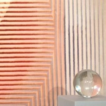 Tapis Trichroic Dalston - Shapes Pink MOOOI
