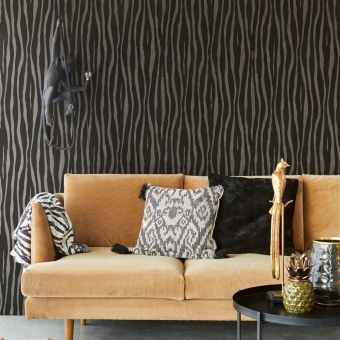 Zebra Wallpaper Cream Eijffinger