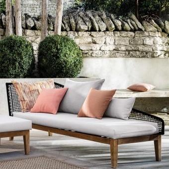 Motu Outdoor Fabric Acier Casamance