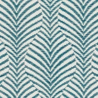 Caori Outdoor Fabric Bleu Klein Casamance
