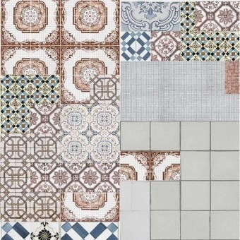 Tell me Tiles Wallpaper Color/Color Wall&decò