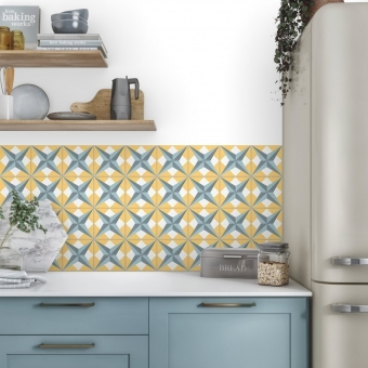 Etoile cement Tile Sunset Carodeco