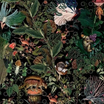 Menagerie rond Rug Raven MOOOI