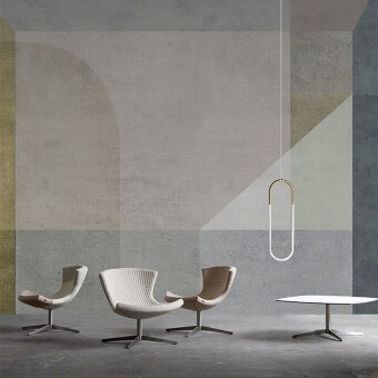 Quattrocento Panel Beige Inkiostro Bianco