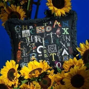 Do You Speak Lacroix? Cushion Multicolore Christian Lacroix