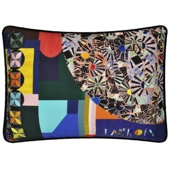 Mosaic Freak Cushion Multicolore Christian Lacroix