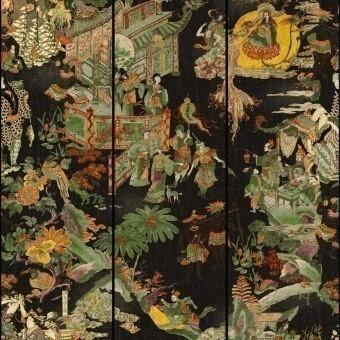 The Oriental Tale Panel Green Mindthegap