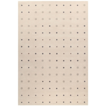 Tapis JC-1 Bubbles Cream par Joe Colombo 200x300 cm AMINI