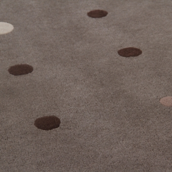 Tapis JC-1 Bubbles Grey par Joe Colombo 200x300 cm AMINI