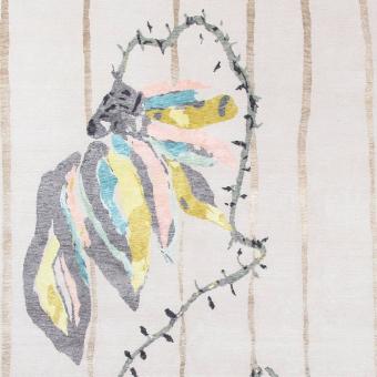 Rosaspina rug by Antonio Marras 250x300 cm AMINI