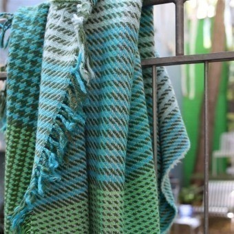 Arklet Throw Emerald Designers Guild
