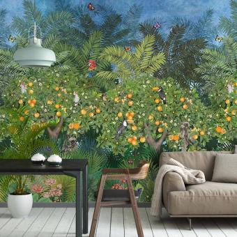 Panneau Orange Grove Garden Matthew Williamson