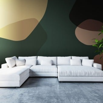 Mondi Paralleli Terra Panel Creme/Green/Ocra Code