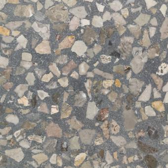 Aganippe 23 Terrazzo tile Grey Carodeco