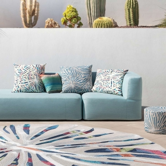 Yacuiba Outdoor Cushion Blue Missoni Home